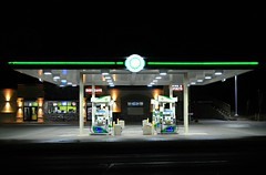 BP Gas Station (Cragin Spring) Tags: bpgasstation night gasstation wisconsin wi midwest twinlakes twinlakeswi twinlakeswisconsin unitedstates usa unitedstatesofamerica bp