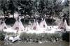 Disneyland 1967 (jericl cat) Tags: disneyland 1967 1960s frontierland riversofamerica indian village disney anaheim