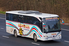 Redwoods Travel, Hemyock - JR60 RED (BF60 OGB) (peco59) Tags: jr60red mercedesbenz mercedes tourismo redwoodhemyock redwoodstravel redwoodscoaches gallowaymendlesham gallowayscoaches psv pcv bf60ogb