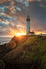 Let the light Shine (Erick Castellón) Tags: pigeonpointlighthouse seascape sunset clouds lighthouse sky landscape ocean tower house blue