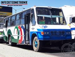 Caio Vitoria  1027 SPSCKM-20 (infecktedbusgarage) Tags: caio vitoria mercedesbenz mexico ecatepec estadodemexico autobus camion suburbano autotransportessanpedrosantaclarakm20 urbano bus méxico estadodeméxico edomex