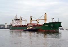 Tundra.. Tyne 190117 (silvermop) Tags: ship boats ships sea bulkers cargovessels bulkcarriers port river tyne tundra