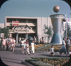 Tomorrowland Reel 2, #1b - The Clock of the World (Tom Simpson) Tags: viewmaster slide vintage disney disneyland 1960s vintagedisney vintagedisneyland