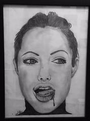 jolie (lauren.greenwood19) Tags: angelinajolie babe pencil