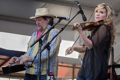 Alison Krauss and Jerry Douglas (Jim Brock Photography) Tags: bluegrass neworleansjazzandheritagefestival alisonkrauss jerrydouglas livemusicblog untionstation gentillystage jimbrockphotography eyeonthemusic
