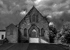 abandoned (MC Snapper78) Tags: bw church mono scotland sony architect renfrewshire kilbarchan marilynconnor