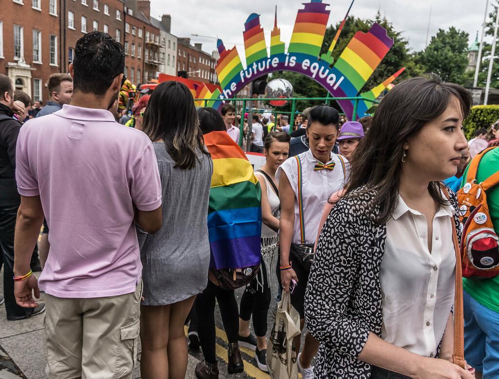 DUBLIN 2015 LGBTQ PRIDE PARADE [THE FUTURE IS EQUAL] REF-105988