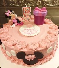 Minnie Mouse cake by Alison, Santa Cruz,CA, www.birthdaycakes4free.com
