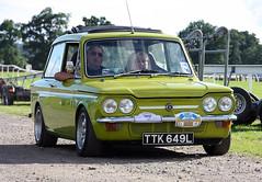 Imp 50, Scone Race Course, Perthshire, Scotland (Ray Crabb) Tags: car perthshire roots singer scone chrysler stiletto 50 imp sunbeam racecourse hillman chamois 50thbirthday 2013 imp50