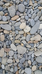 Smooth ocean rocks