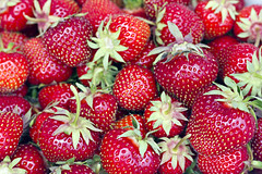 Strawberries (KellyGarciaPhotography) Tags: fruit strawberry berries strawberries fresh morango morangos fraise fresas 草莓 fragola erdbeere freshfruit erdbeeren jordbær fresa fragaria aardbei fraises fragole イチゴ 苺 딸기 dâu tráidâu