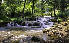 Tale of nature on the waterfalls (malioli) Tags: longexposure tree nature water canon river waterfall europe croatia cro 30sec hrvatska slunj rastoke
