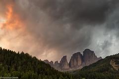 Colori del tramonto (cesco.pb) Tags: sunset italy alps canon italia tramonto alpi trentino dolomites dolomiti dolomiten valdifassa sassolungo campitellodifassa canoneos60d tamronsp1750mmf28xrdiiivcld