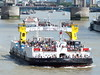 woolwich ferry james newman-annual river trip /11/07/2015/