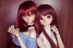 Test shot w/ Ring Light (Aile.s) Tags: ball persona doll 4 dream bjd rise dollfie volks abjd jointed kujikawa