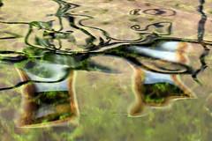 Reflective Abstract (gripspix (Easter Break 4 Family)) Tags: abstract detail reflections deutschland well abstrakt spiegelungen horb gernany marktbrunnen fotoseminar 20150801