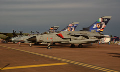 TTTE 35 Years Line Up (np1991) Tags: camera uk england slr tattoo digital training italian nikon force anniversary bigma aircraft aviation air united royal sigma kingdom special airshow international german planes years 50500 dslr scheme tornado establishment ecr raf 35th gaf fairford ids riat 2015 50500mm panavia gr4 d7100 ttte trinational itaf