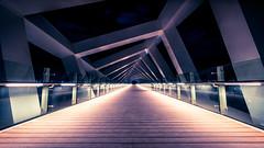 Dubai Canal Twisted Bridge (Ka-Di) Tags: dubai canal bridge twisted