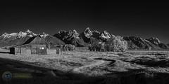 Moulton Barn Infrared (Theaterwiz) Tags: infrared jacksonholewyoming grandtetons antelopeflats theaterwiz tamoultonbarn moultonbarn