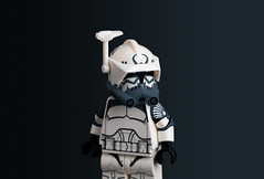 A Fearful Comet (NVOP4) Tags: lego star wars clone trooper phase 2 wolfpack comet 104th battalion clonearmycustoms anothercloneinthewar
