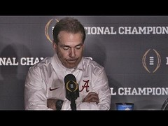 Hear what Nick Saban said after Alabama's last-second loss to Clemson (Download Youtube Videos Online) Tags: hear what nick saban said after alabamas lastsecond loss clemson