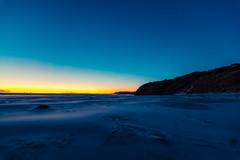 Smails Beach Sunset 2016 (five15design) Tags: dunedin southisland newzealand aotearoa nightsky evening blue water night smailsbeach sunset beach sand wind headland lastlight sea ocean