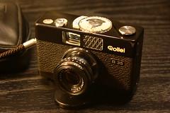 IMG_8410  Rollei B35 (Wallus2010) Tags: rolleib35 rollei35 vintage 135kbfilm rollei kleinbild kompaktkamera taschenkamera film negativ dia canon eos450d efs1855