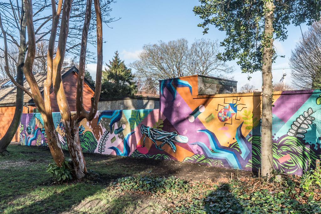 NEW STREET ART AND NEW TEAROOMS [HERBERT PARK DUBLIN]-124058