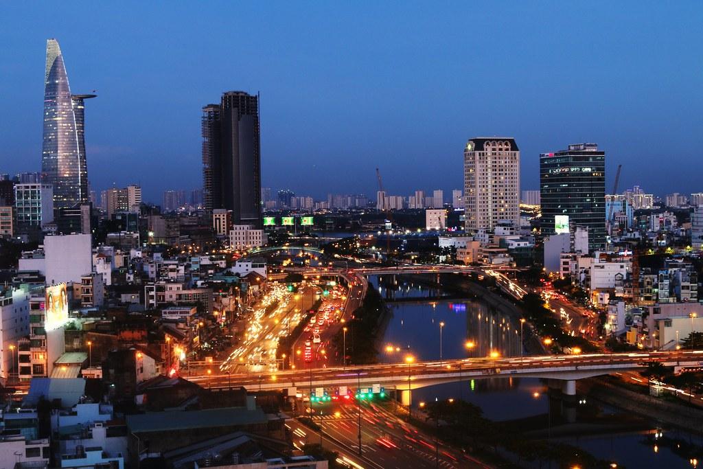 Ho Chi Minh City by Ramon Boersbroek, on Flickr