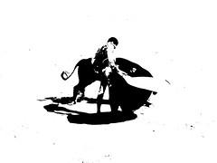 Andy Younes (aficion2012) Tags: arles novillada septembre 2016 blohorn jalabert corrida france francia andy younes novillero faena toros bull fight bullfight toreaux monochrome bw nb bn monotone capa capote capeando