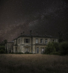 Abandoned School (www.forgottenheritage.co.uk) Tags: ue explore exploration school grounds night stars comp abandoned derelict