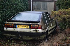 1987 Volkswagen Passat C (NielsdeWit) Tags: nielsdewit rt87xr ede abandoned