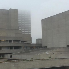 30.12.16 (Dark Archive) Tags: project365 brutalistarchitecture concrete fog winter december southbank london