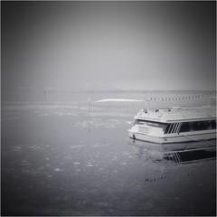 000126 (la_imagen) Tags: blackwhite bodensee schwarzweiss sw monochrome lindau lindauimbodensee winter kar schnee snow kış