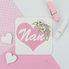 Nan Magnet (jac.cheekymonkeystudio) Tags: mothersday birthday thankyougift flowers garden heart watercolour painting drawing illustration floral nan nanny gran granny grandma nana blooms