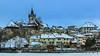 La vieille ville d'Estavayer-le-Lac sous la neige (Switzerland) (christian.rey) Tags: estavayerlelac estavayer neige hiver vieille ville collégiale broye fribourg sony alpha 77 1650