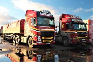 Ferguson Transport & Shipping Volvo FH KM15 ZFC & Volvo FMX P300 AFT