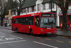 Rare Working: Route 235, Metroline, DM969, LK58CSU (Jack Marian) Tags: route235 metroline dm969 lk58csu alexander alexanderdennis dennis mcv mcvevolution northbrentfordquarter sunburyvillage brentford buschcorner buses bus london rareworking