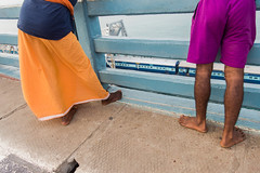 @Pamban,Rameswaram. (vjisin) Tags: rameswaram pamban bridge train india asia tamilnadu incredibleindia outdoor indianbridge railbridge travel travelphotography light nightphotography indianrailways rail sea indianocean streetphotography street