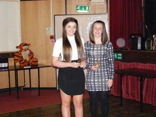 Leah Wright & Rebecca Greenfield - Junior Girls Doubles Winners