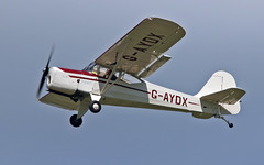 "G-AYDX A.61 Terrier 2 Sturgate  EGCV Fly In 07-06-15 (PlanecrazyUK) Tags: 2 terrier a61 ""fly in"" sturgate 070615 egcv gaydx a61terrier2"