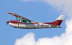 G-BFZD Cessna FR.182 (PlanecrazyUK) Tags: fly in sturgate 070615 gbfzd egcv cessnafr182
