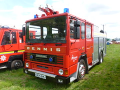 E805 BMJ (markkirk85) Tags: earls barton festival transport 2015 fire engine appliance dennis ds153 angloco hertfordshire service ds 153 e805 bmj e805bmj carmichael ex