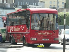 The harbour is over there! (Coco the Jerzee Busman) Tags: uk bus islands coach britain great jersey char tours channel banc