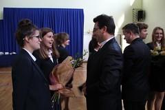Pożegnanie klas trzecich gimnazjum 2015