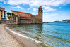 Collioure Charm (Nomadic Vision Photography) Tags: france french belltower historical collioure tranquil seasideresort jonreid tinareid nomadicvisioncom touristdestinatio