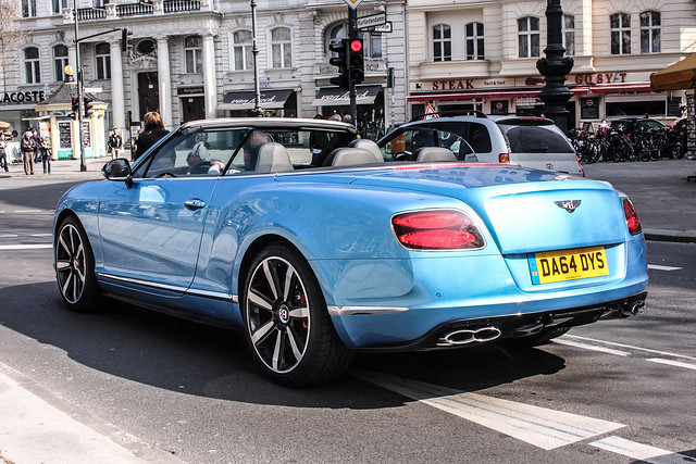 uk berlin germany continental plate s chester da license british v8 bentley spotting gtc