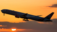 """Kenya airways departing in the last light of the day • <a style=""""font-size:0.8em;"""" href=""""http://www.flickr.com/photos/125767964@N08/19442969830/"""" target=""""_blank"""">View on Flickr</a>"""