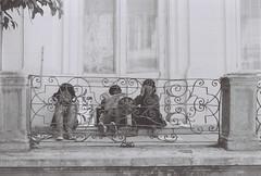 (Radu Tihon) Tags: street travel blackandwhite bw film 35mm europe kodak streetphotography photojournalism documentary social east professional romania iasi gipsy