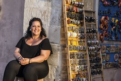 20150613-_ar72_CETC DSC9785-Edit.tif (Louise Lindsay) Tags: clouds plane streetphotography noto sicily ortigia mtetna shopkeeper 2015 june2015 2015travels clearygathering